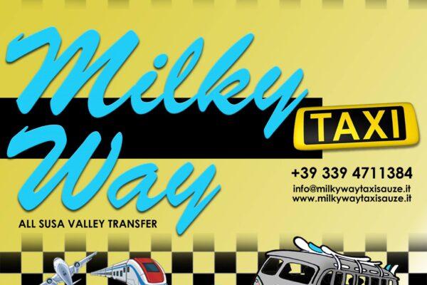 Milky Way Via Lattea taxi service sauze d'oulx apartments