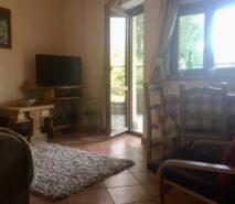 Ski apartment living room, Biancaneve Sauze d'Oulx