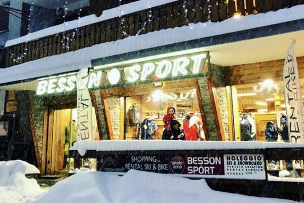 Besson Sport, equipment rentals for apartment holidays in Sauze d'Oulx Via Lattea