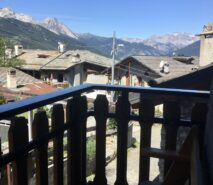beautiful views from the modern luxury, chalet apartment, Casa della Mamma, Sauze d'Oulx ski holidays