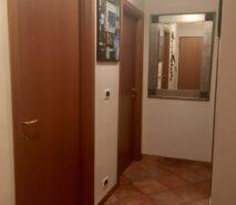 Hallway in Ski holiday apartment accommodation, Biancaneve, Sauze d'Oulx