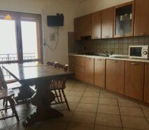 accommodation sauze d'oulx view of kitchen ski apartment elisa